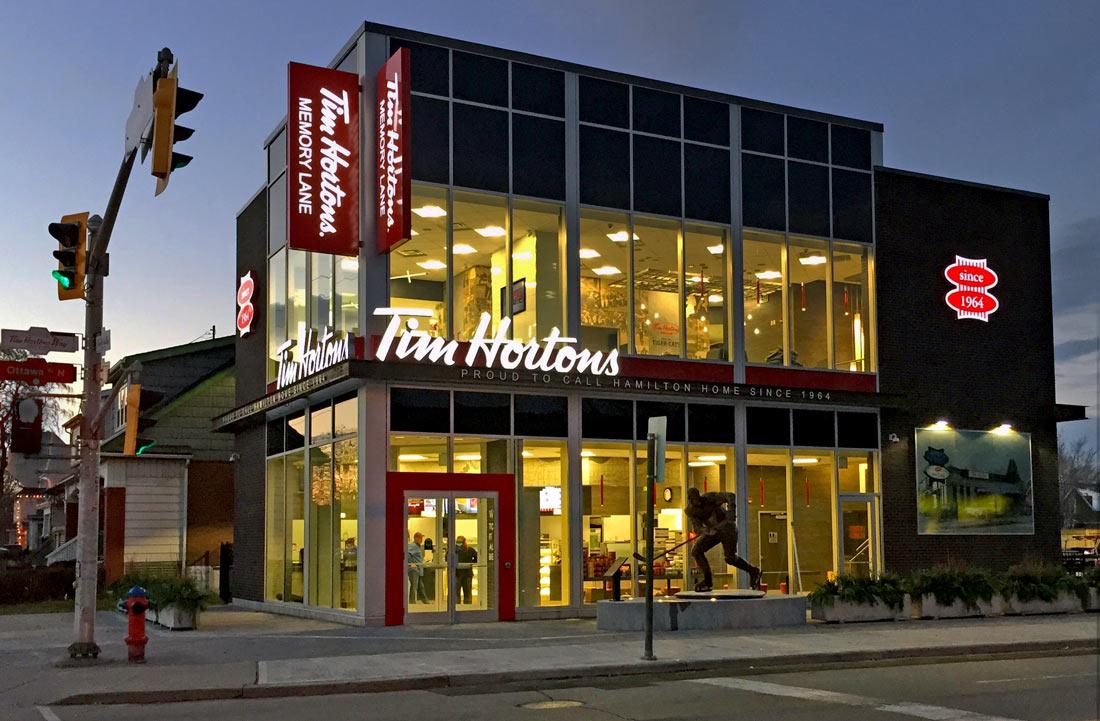 Tim Hortons Original Store Renovation