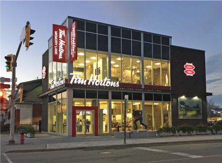 Tim Hortons Original Store Renovation by EPS