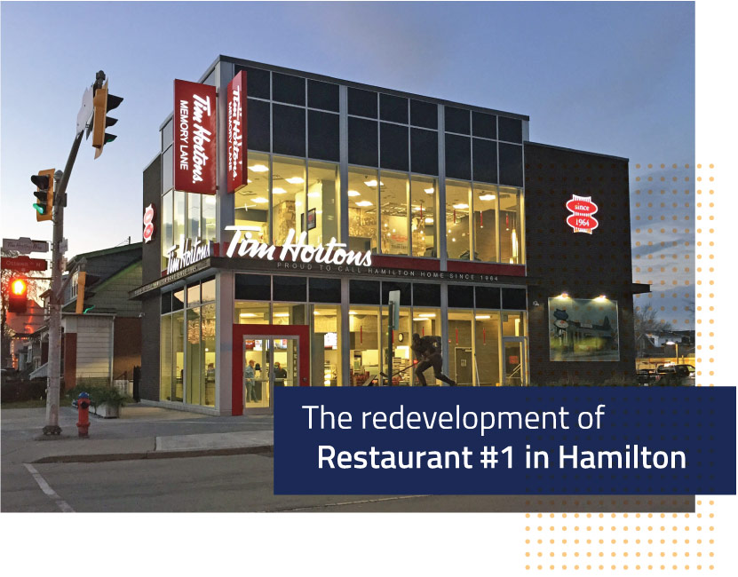 Original Tim Hortons Store #1 Redevelopment by EPS
